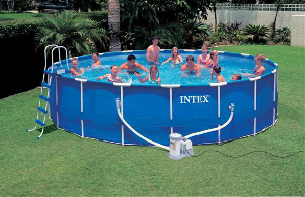 intex 18ft frame l Intex Above Ground Pools